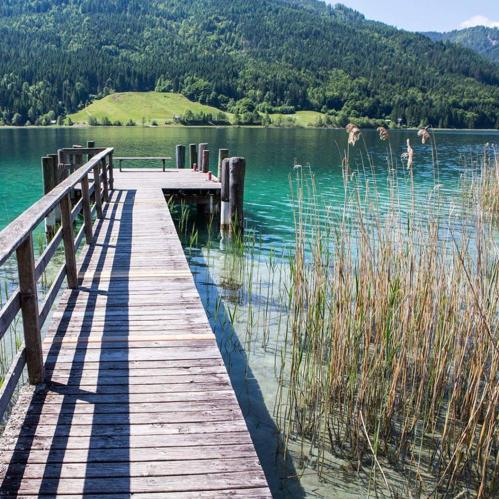 Weissensee in Carinthia tripcendo mylifeoutside wildculturecz mylosthat travel travelblog travelbloggerhellip