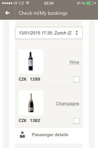 Překvapení pro partnera v podobě lahve dobrého vína či šampusu na palubě.