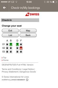 Možnost vybrat si místo na palubě letadla, myslím ocení každý.
