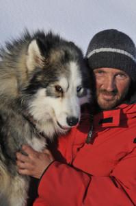 Anton Kutner - Husky Toni má pohnutý osud, ale severší psi byli vždycky jeho snem. Foto: Alpenregion Bludenz