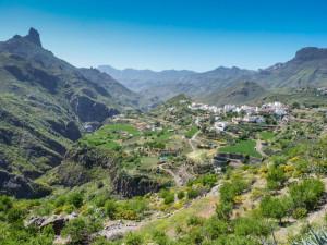 Horské vesnice na Gran Canaria. Foto: Eva Janů