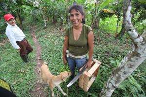 Ženy v Peru často pracují velmi tvrdě.