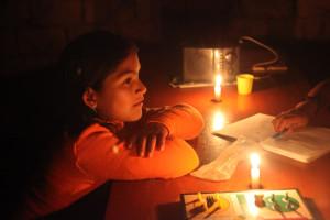 I při rajhradickém blackoutu jsem si vzpomněl na Jaém a Amarovu domácnost.
