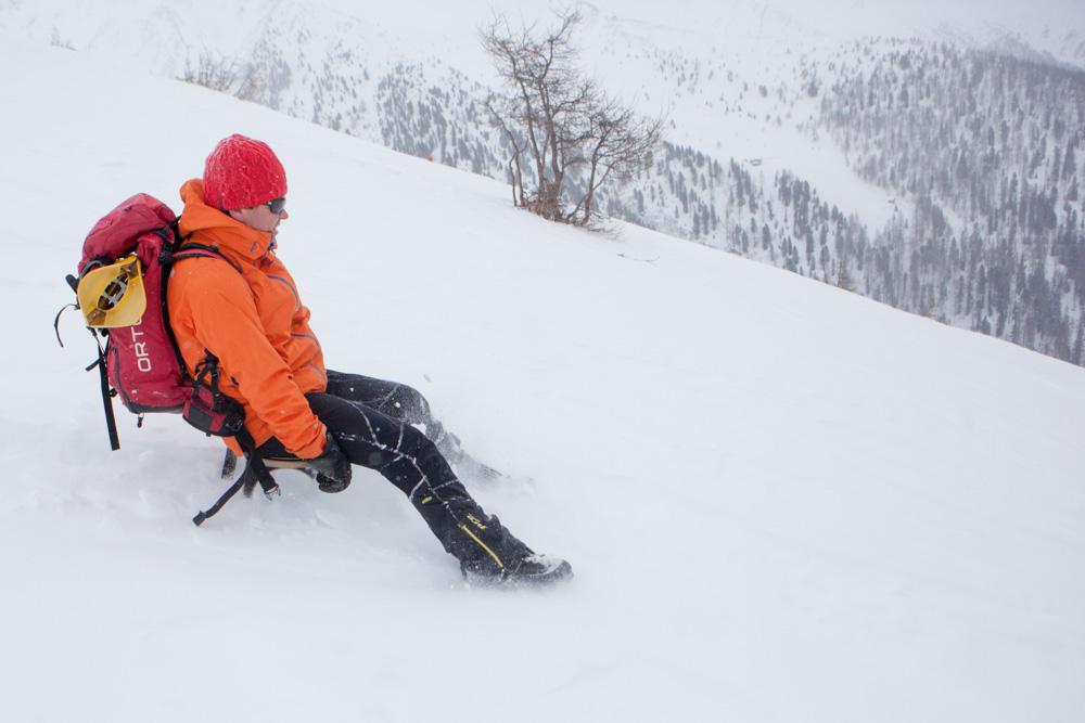 I ve vysokém sněhu je cesta dolůna böcklu dst zajímavá.