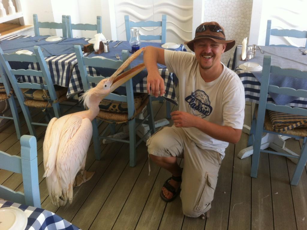 Kamarád palikán má v Pafosu svoji vlastní restauraci.