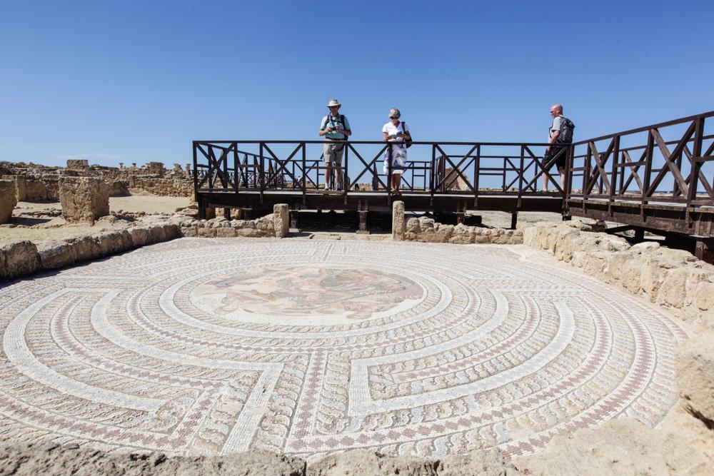 Pafos a jeho mozaiky, jsou známé po celém světě.