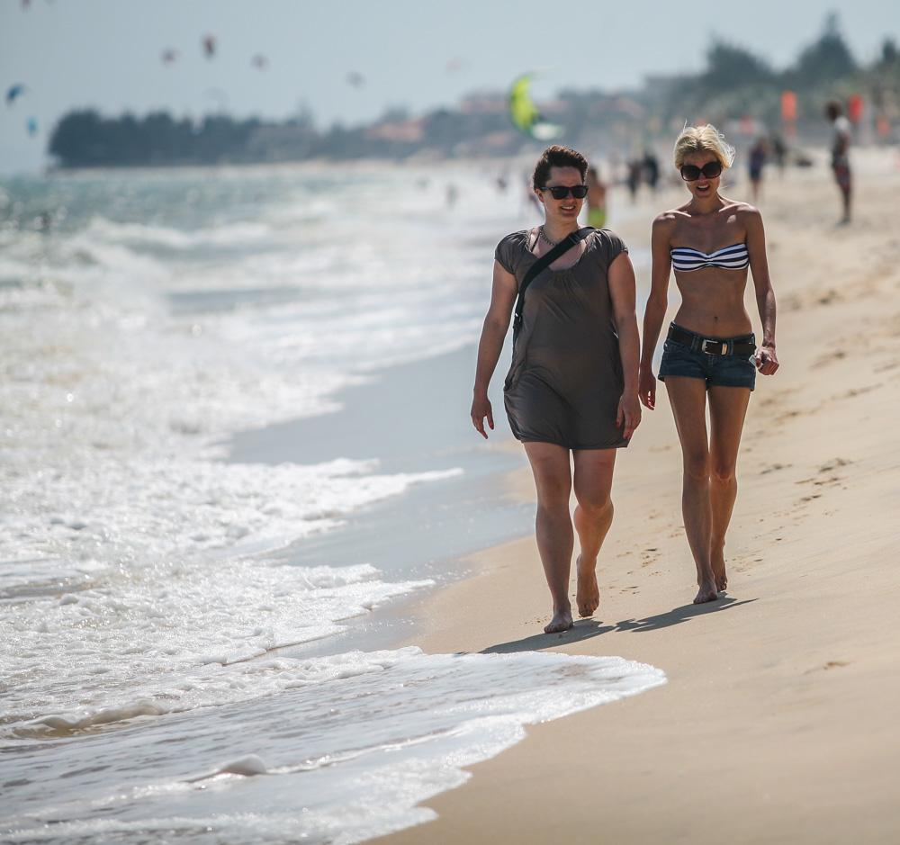 Procházky po pláži. Proč ne?