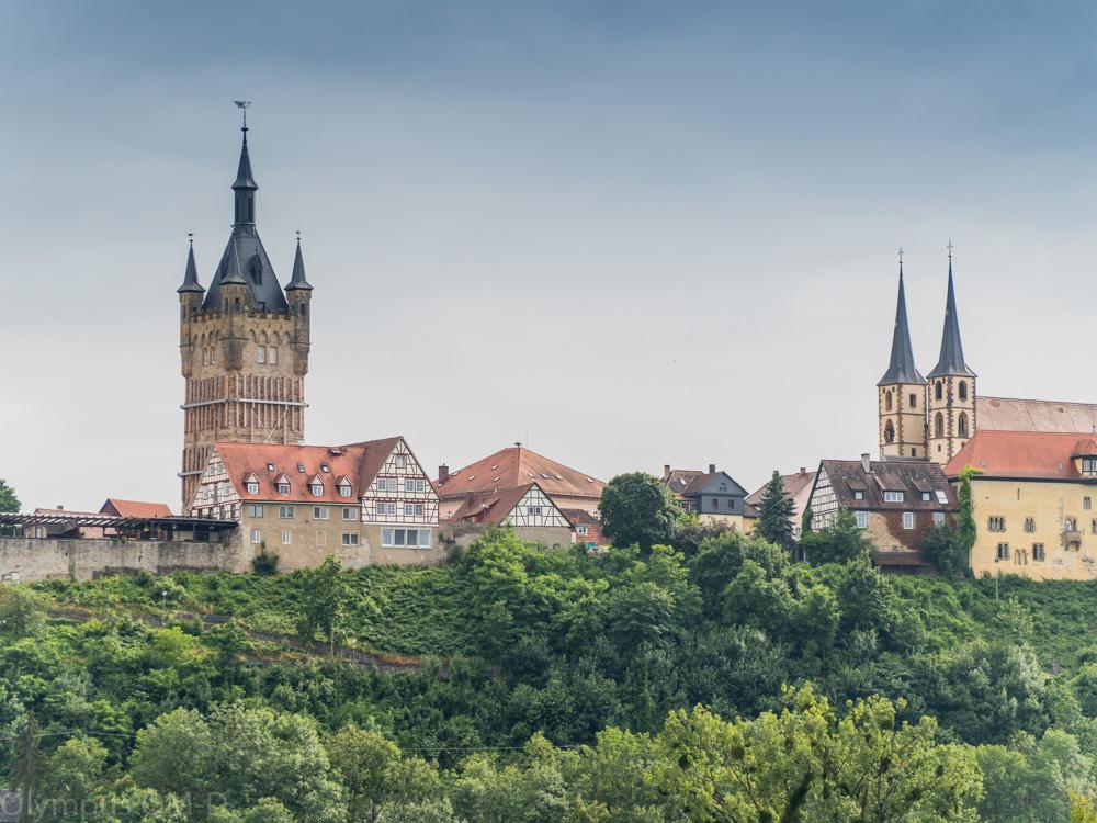 Věž je dominantou Bad Wimpfenu.