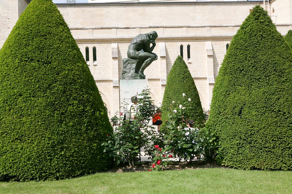 Rodinov socha Myslitel, ale i další jeho výtvory jsou fakt síla.