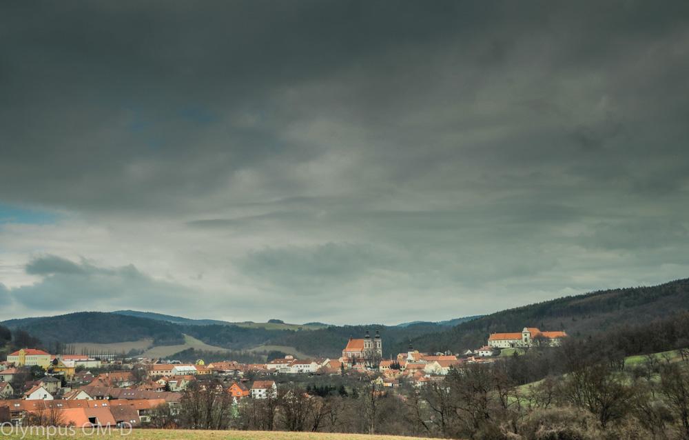 Temné mraky na Lomnicí.