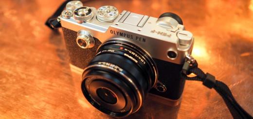 Snímke fotoaparátu PEN-F