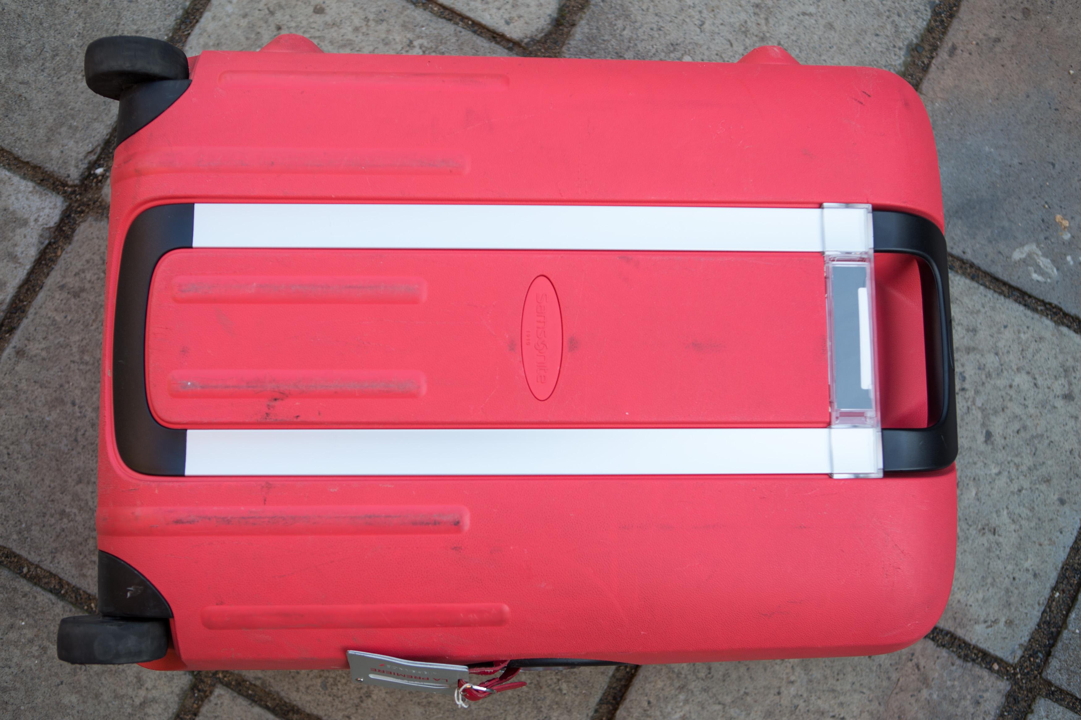 Růžový kufr