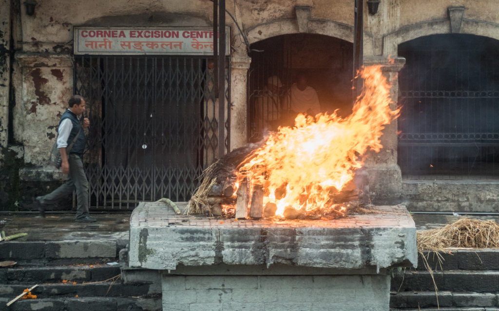 nepálský pohřeb