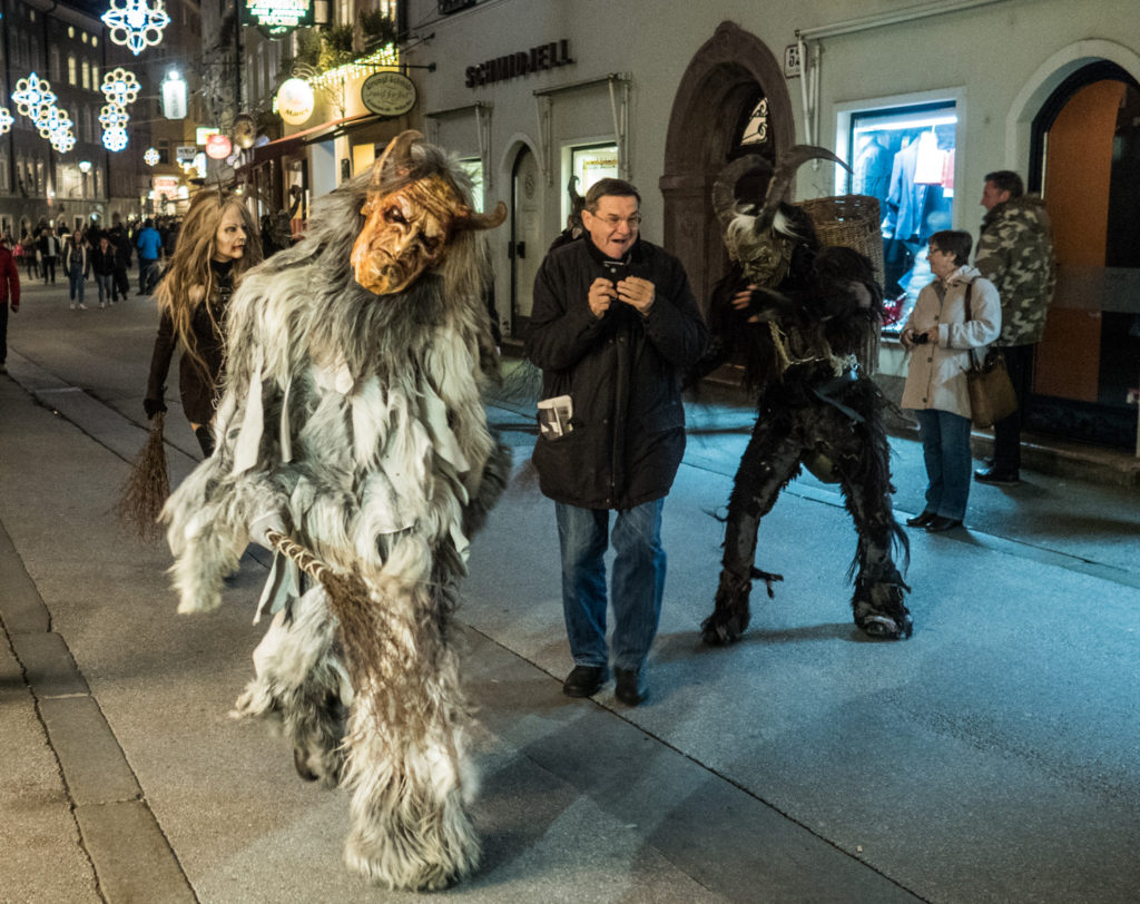 Krampus in Saltzburg.