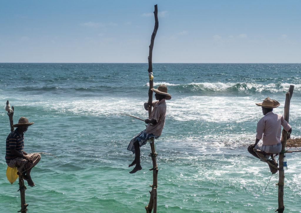 Rybáři na kůlech.