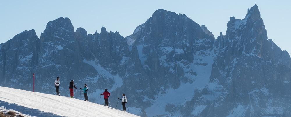 Středisko Bellamonte/Alpe Lusia.