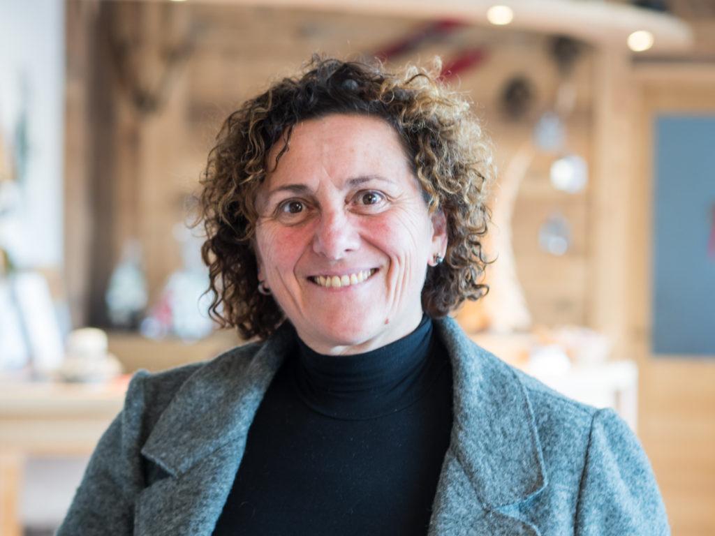 Nicoletta - majitelka kozí farmy ve Val Di Fiemme