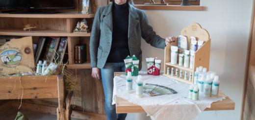 Farmářka Nicoletta z Val Di Fiemme