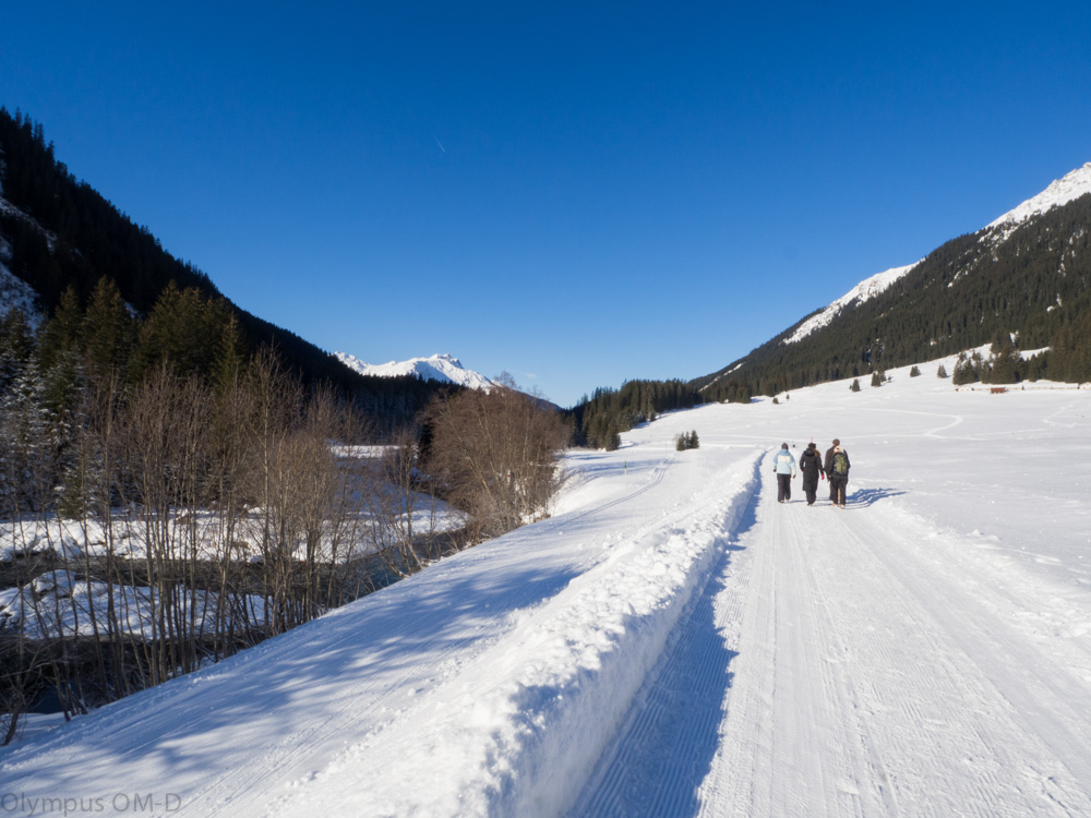 Cestou z Klosters