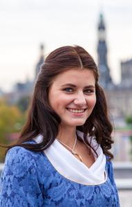 Štolová dívka pro rok 2014 Luise Fischer.