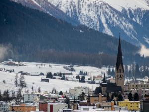 Davos je nejvýše položeným městem v Evropě, v 1560 m.n.m.