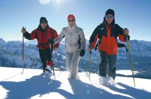 Zimní putování Bregenzkým lesem. Foto: Ludwig Berchtold/Vorarlberg Tourismus
