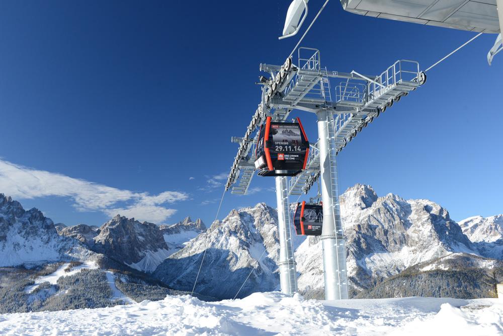 Nové lanovky propojily dvě menší střediska v Jižním Tyrolsku. Foto: Suedtirol marketing gesellschaft