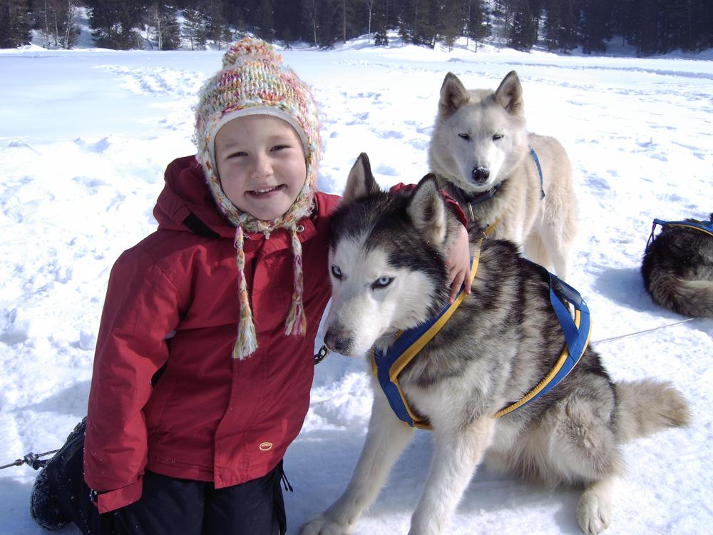 Škola psích spřežení pro děti. Foto: Archiv Husky Toni