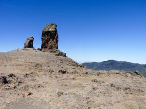 Roque Nublo, dva záhadné skalní zuby uprostřed ostrova. Foto: Eva Janů