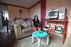 Rosa a její byt v Huanacu.
