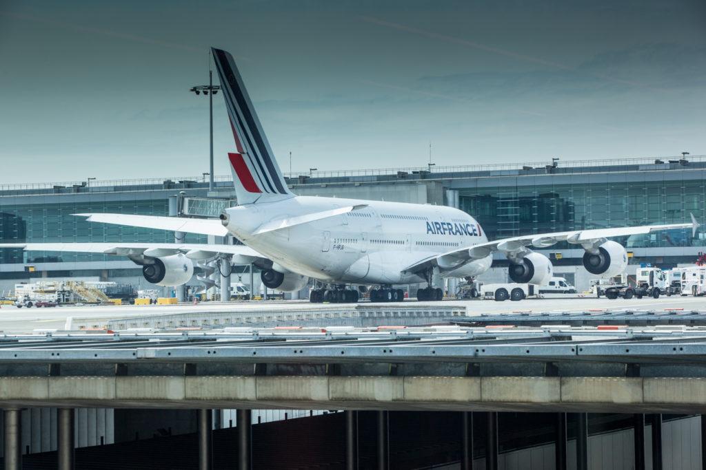 zaparkované letadlo