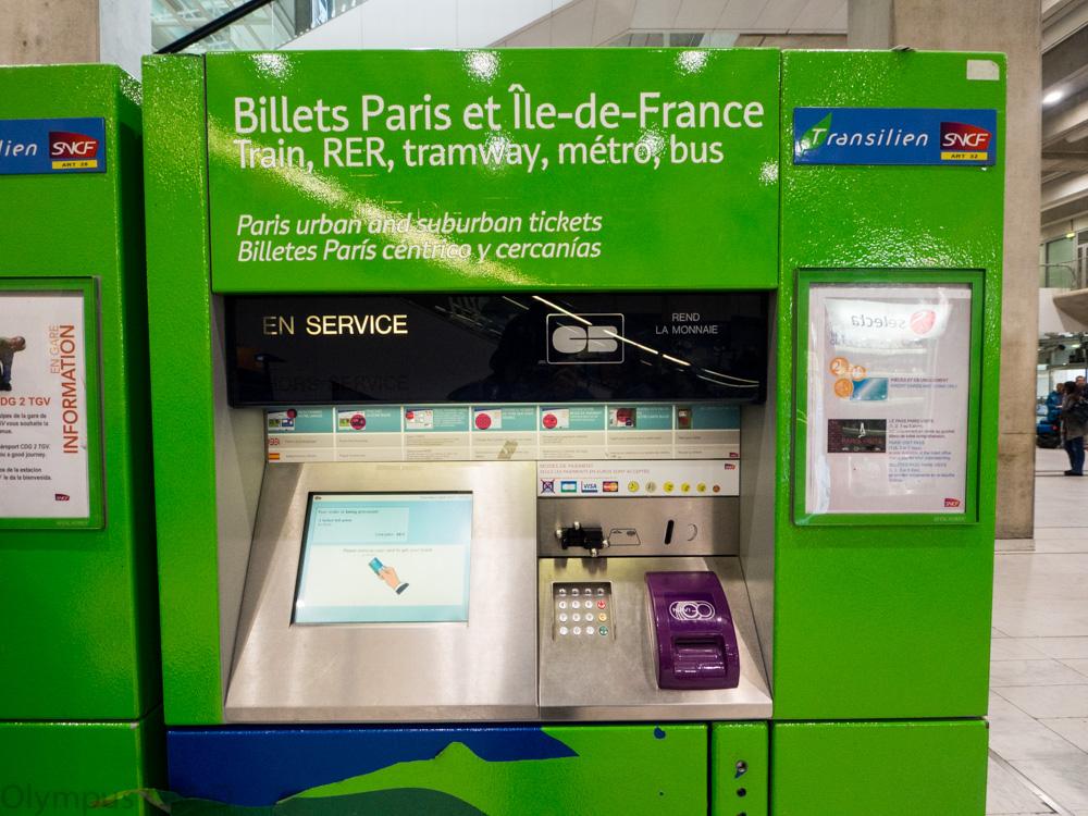 zelený automat