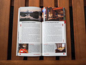 Každému ze 111 míst velké tour Švýcarskem je věnována jedna stránka.