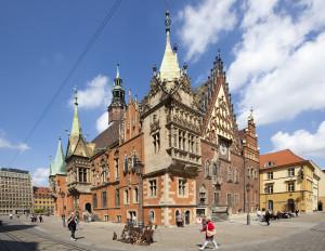 Jedním míst, kam můžete doletět s Pavlem Hradeckým je polská Wroclav.