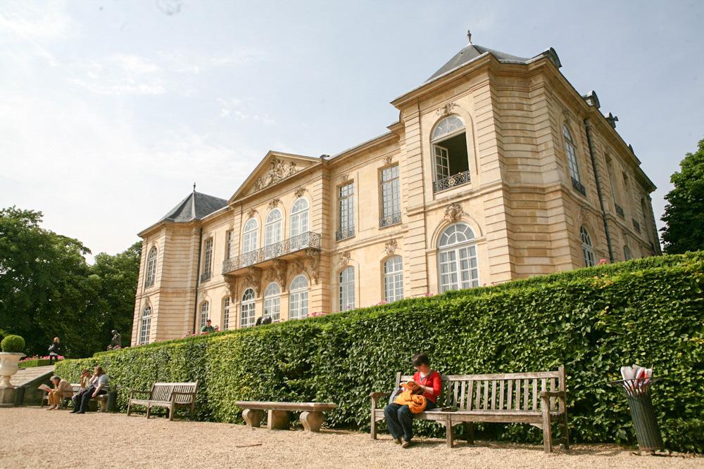 Hotel Biron, kde žil a pracoval Auguste Rodin.