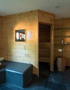 Sauna ve Ville Natur.