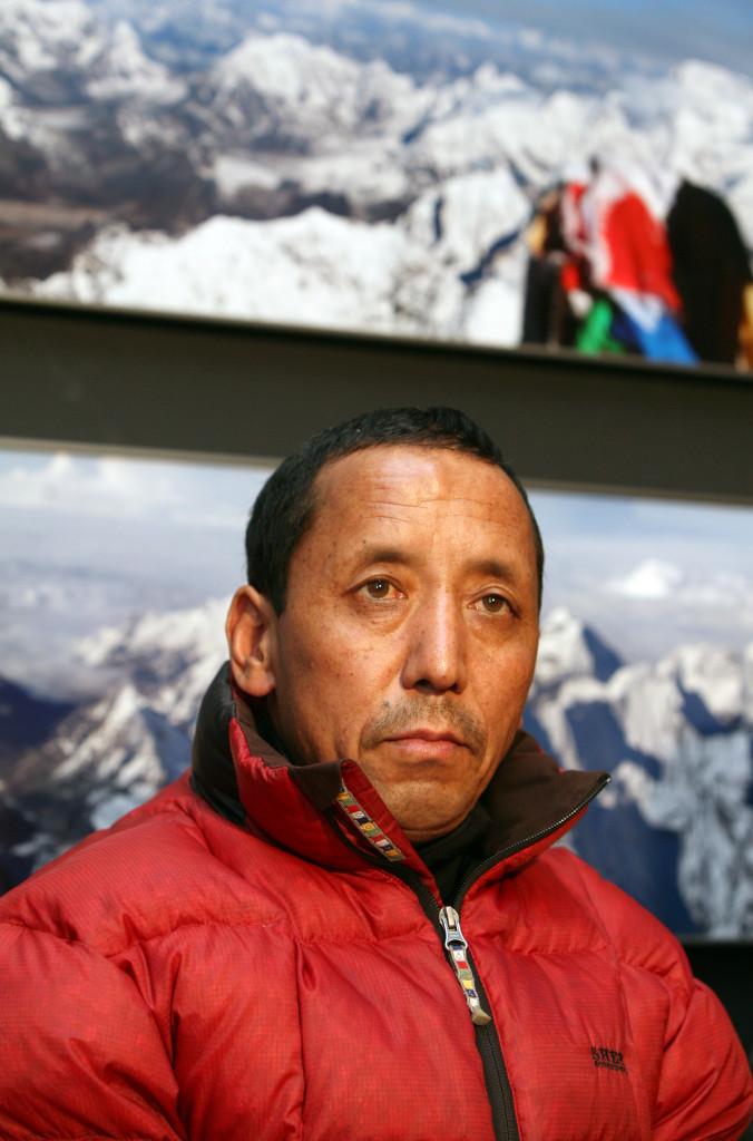 Mountaineer Apa Sherpa visit Czech republic.