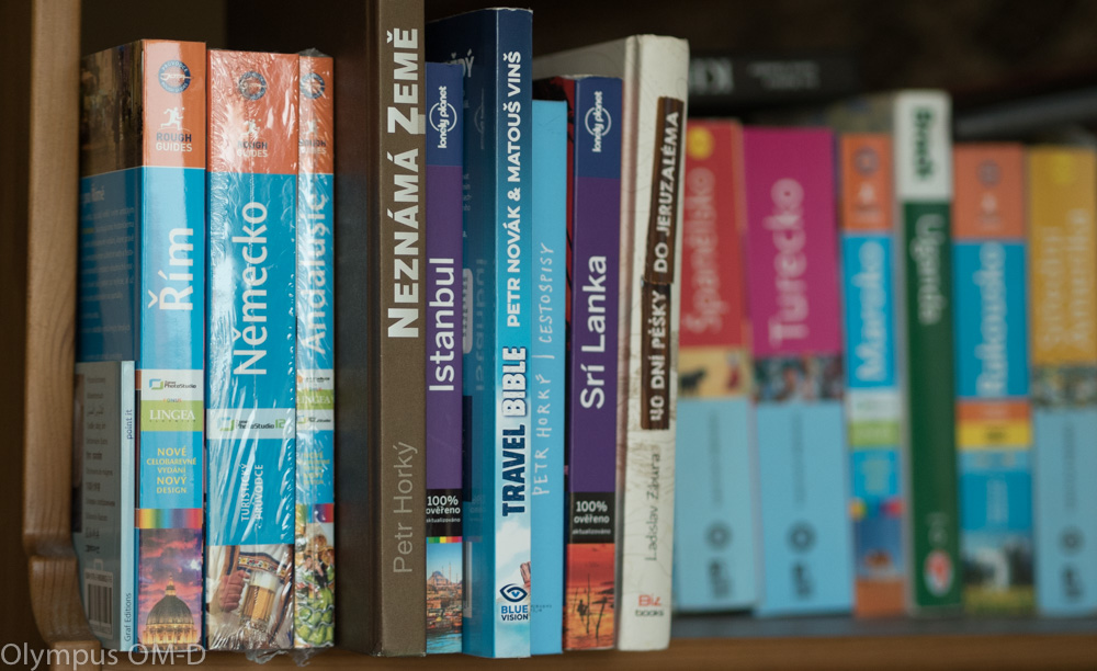 Travel Bible mezi turistickými průvodci.
