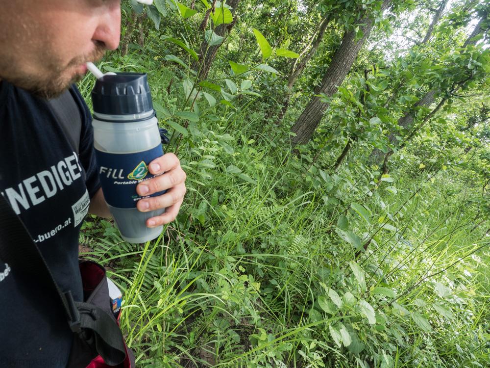 pití v pralese