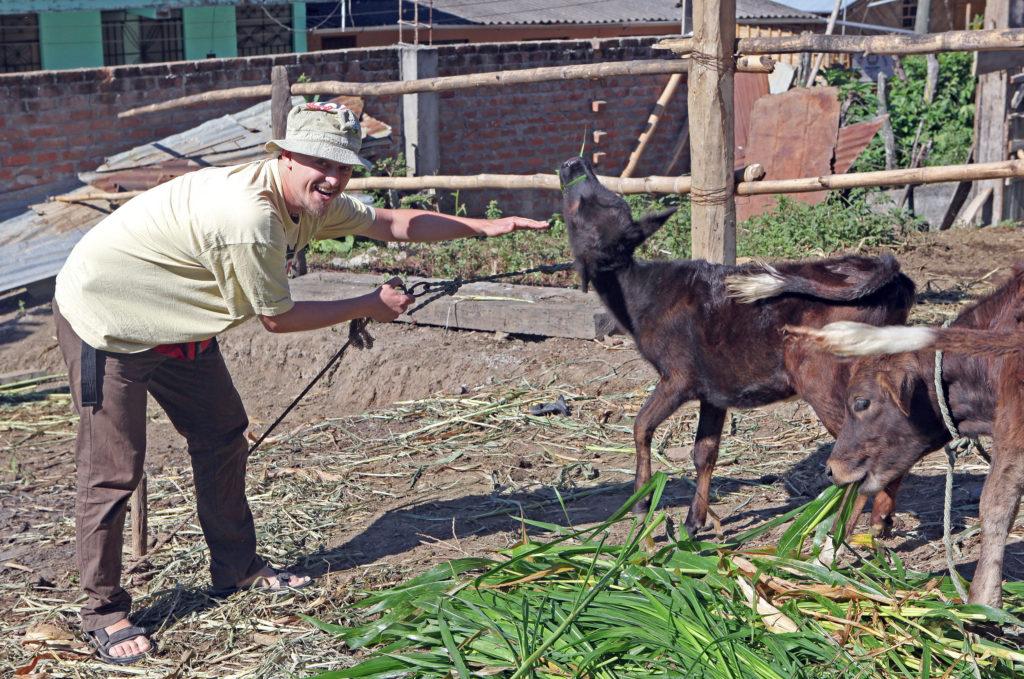 Tomáš Hájek v Peru
