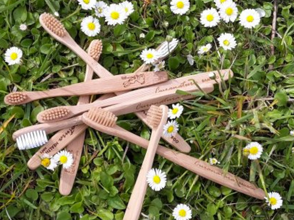 Bambusový kartáček.