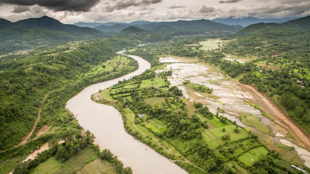 Zelená krajina Nepálu