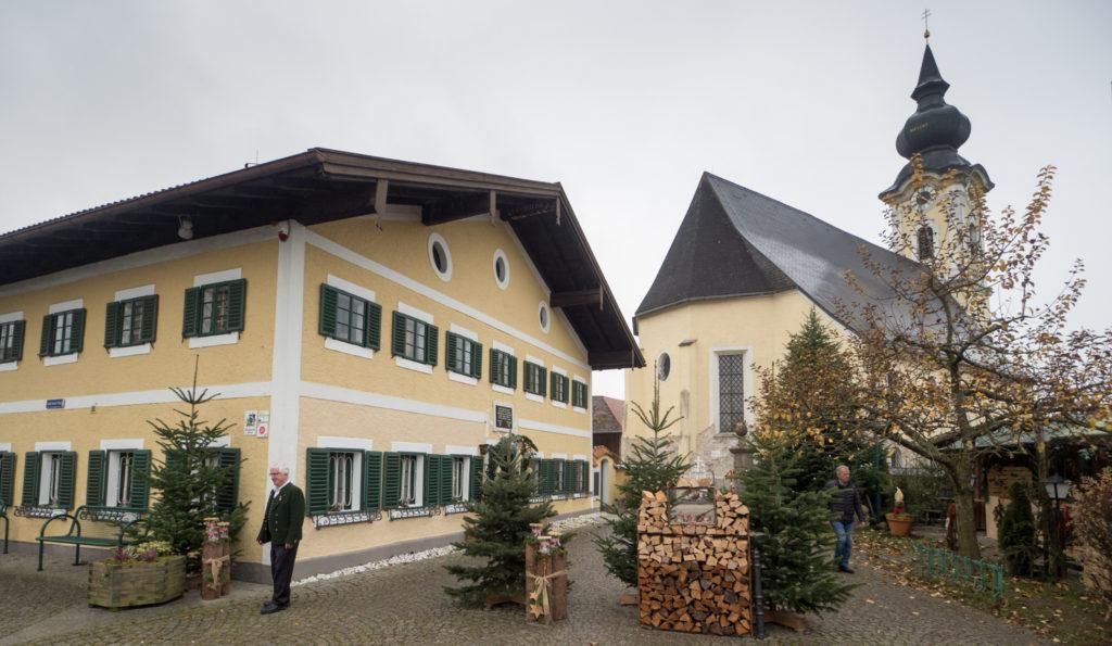 Škola v Arnsdorfu.