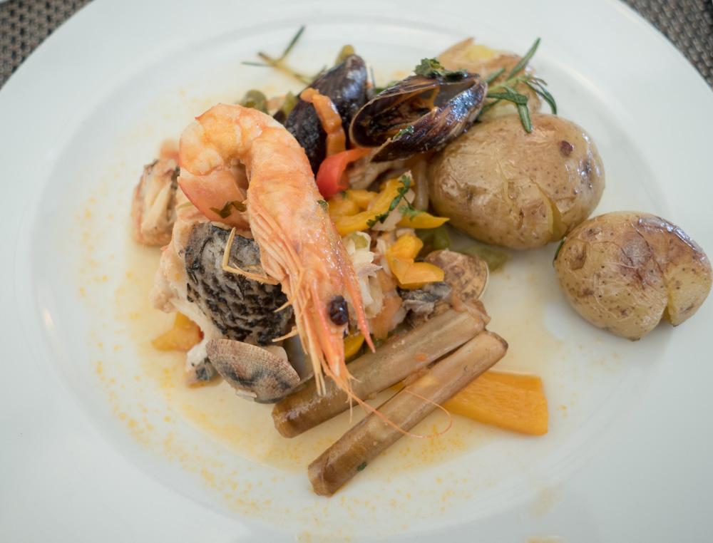 Portugalský pokrm cataplana.