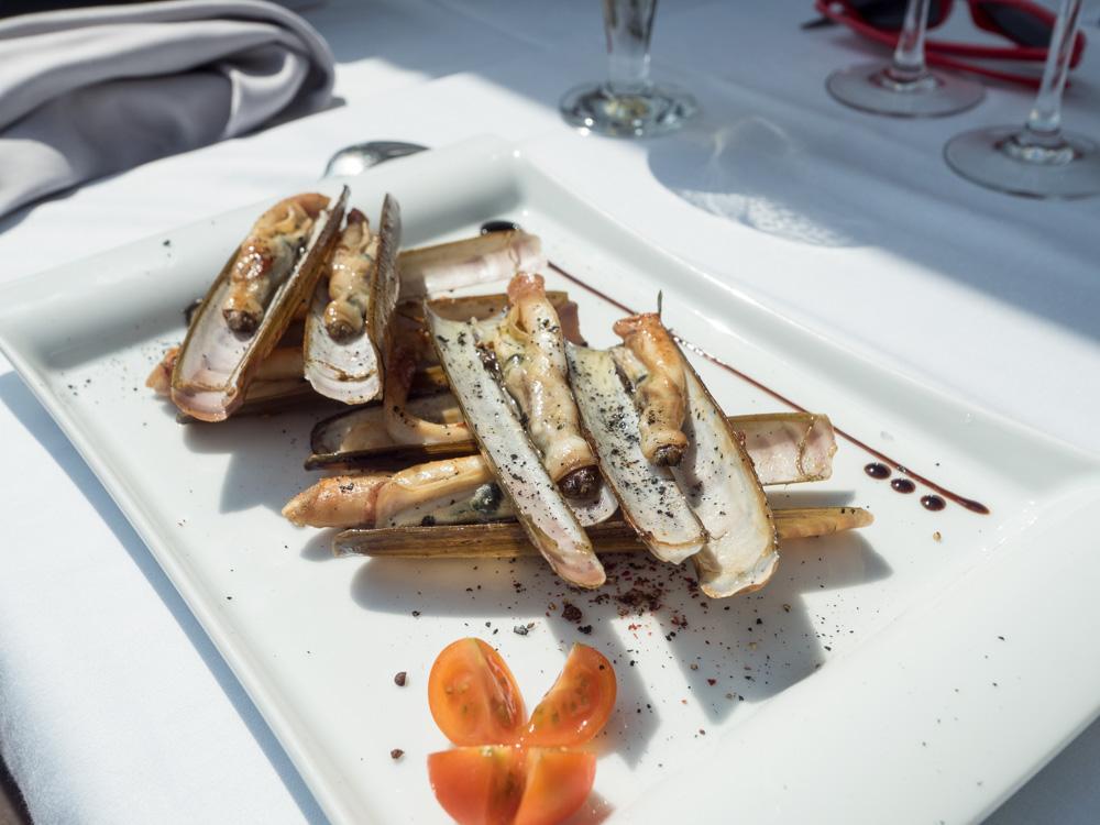 Mořské břitky na talíři