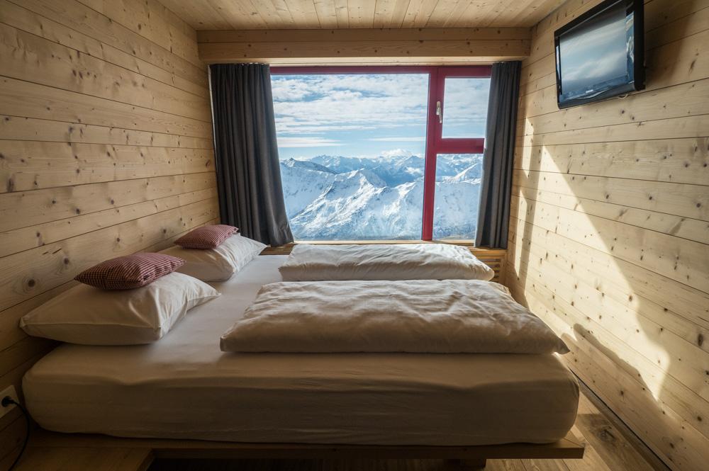 Glacier hotel Grawand.