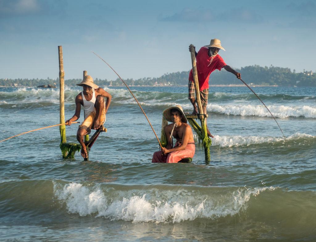 Rybáři z ostrova Ceylon.