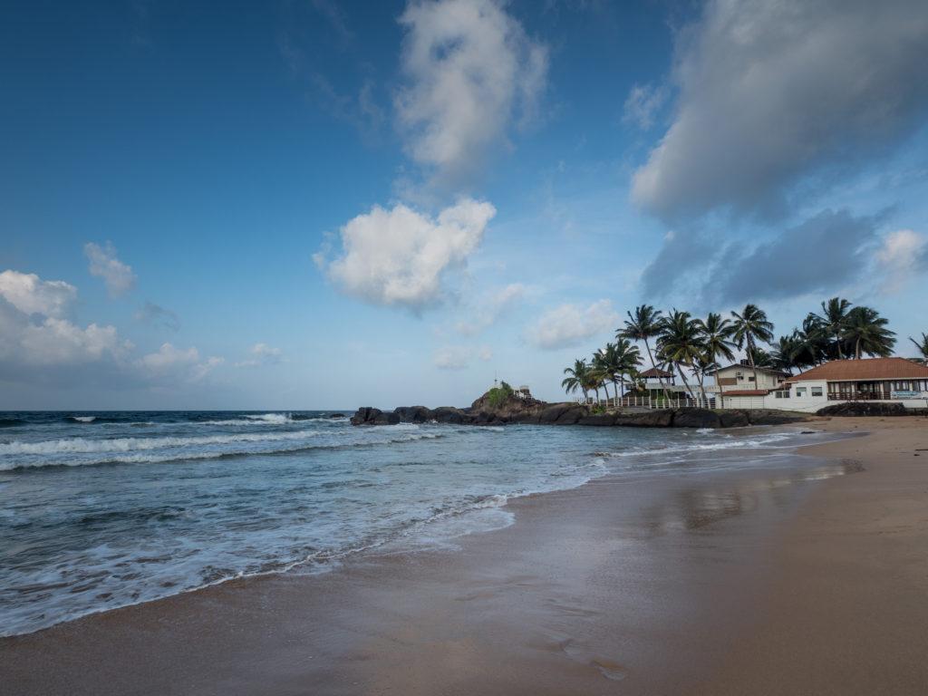 Moře na Srí Lance.
