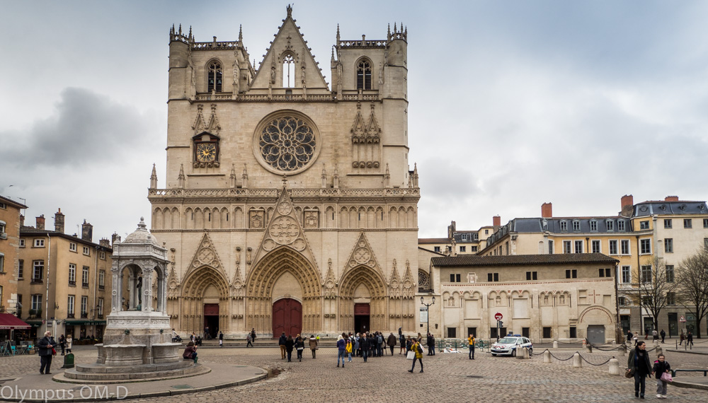 Lyon je krásné historické město