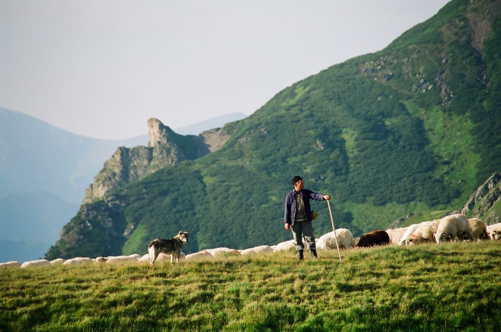 Rumunské hory Fagaraš